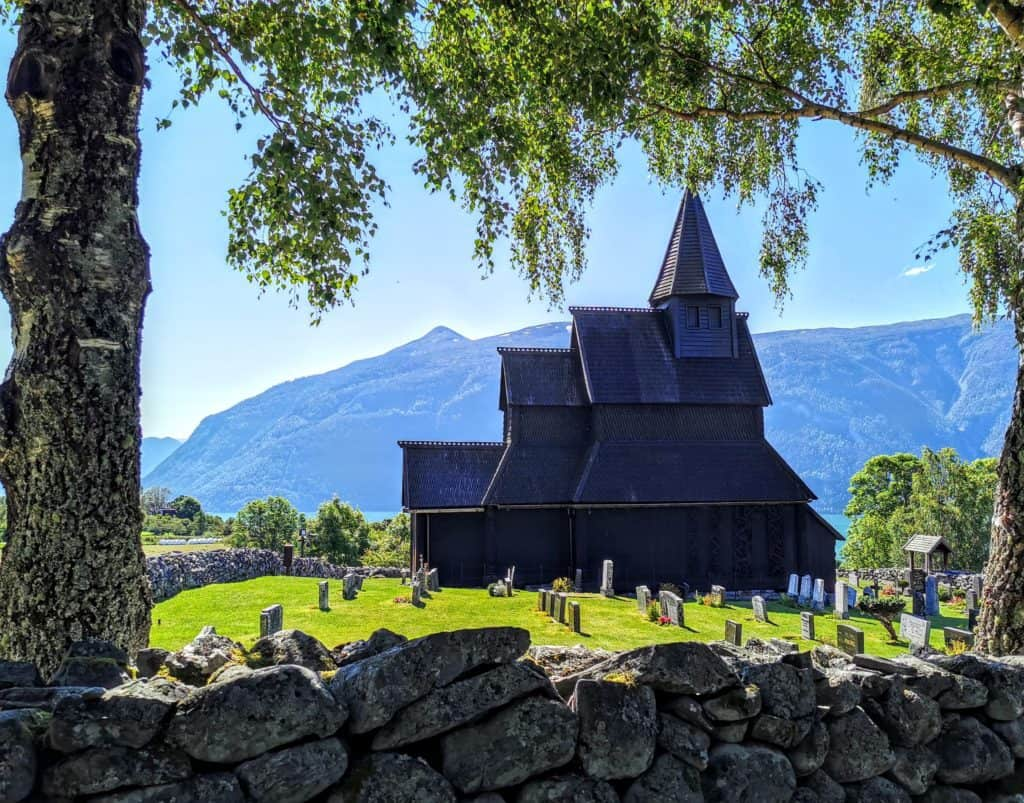 Stave church in Urnes